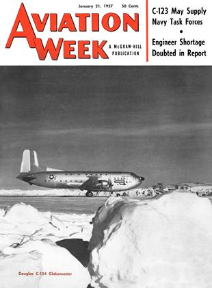 Cover for the January 21 1957 issue