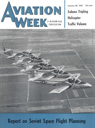 Cover for the January 28 1957 issue