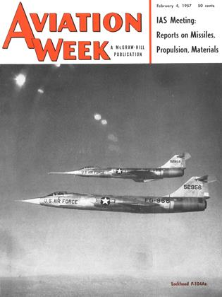 Cover for the February 4 1957 issue