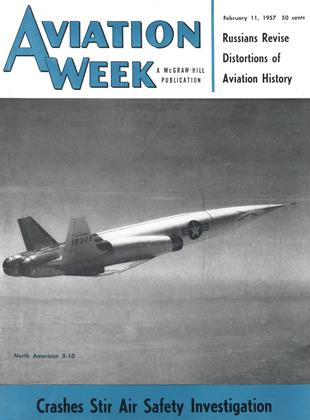 Cover for the February 11 1957 issue