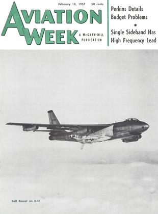 Cover for the February 18 1957 issue