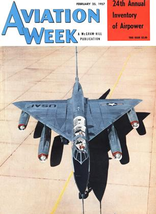 Cover for the February 25 1957 issue