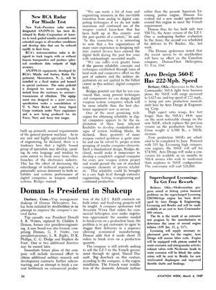 Doman Is President in Shakeup, Page: 34 - March 4, 1957 | Aviation Week