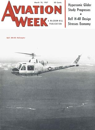 Cover for the March 18 1957 issue