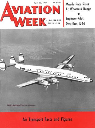 Cover for the April 22 1957 issue