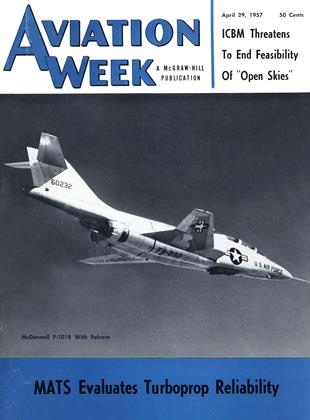 Cover for the April 29 1957 issue