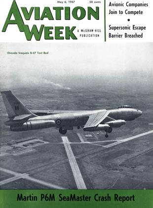 Cover for the May 6 1957 issue