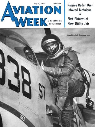 Cover for the July 1 1957 issue