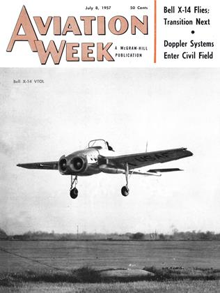 Cover for the July 8 1957 issue