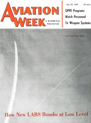 Cover for the July 22 1957 issue