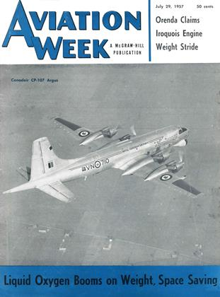 Cover for the July 29 1957 issue
