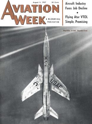 Cover for the August 5 1957 issue