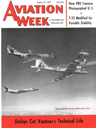 Cover for the August 12 1957 issue