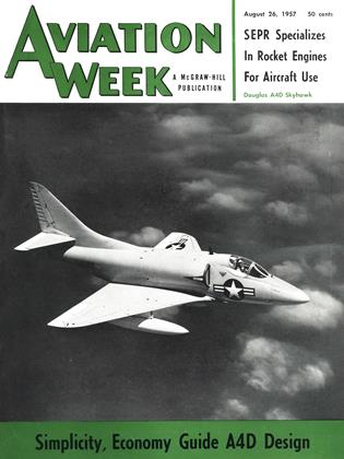 Cover for the August 26 1957 issue