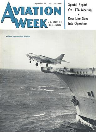 Cover for the September 16 1957 issue