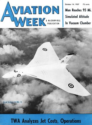 Cover for the October 14 1957 issue
