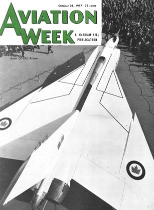 Cover for the October 21 1957 issue