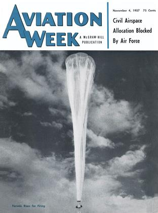 Cover for the November 4 1957 issue