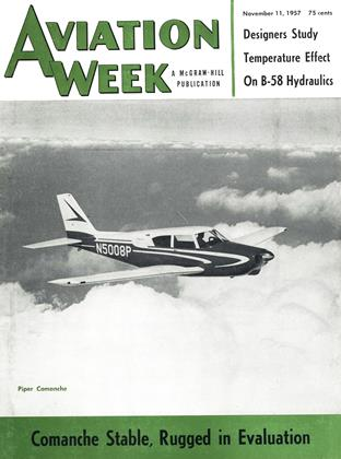 Cover for the November 11 1957 issue