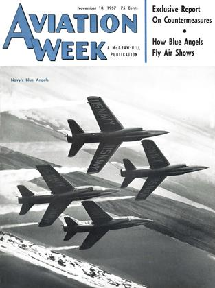 Cover for the November 18 1957 issue