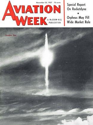 Cover for the November 25 1957 issue