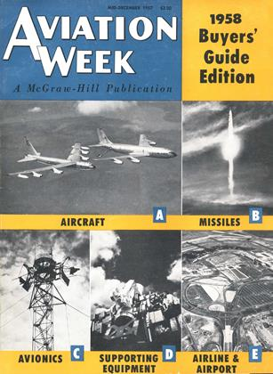 Cover for the MID-DECEMBER 1957 issue