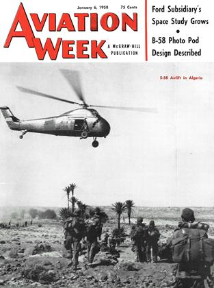 Cover for the January 6 1958 issue