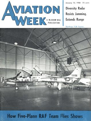 Cover for the January 13 1958 issue