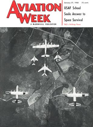 Cover for the January 27 1958 issue