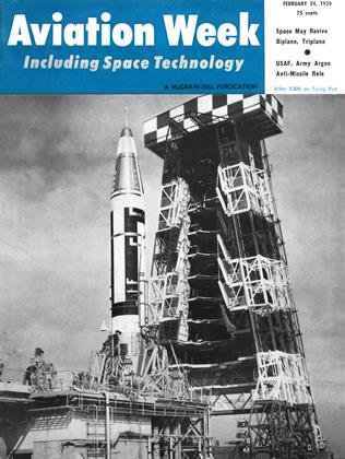 Cover for the February 24 1958 issue