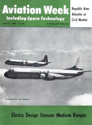 Cover for the March 31 1958 issue