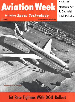 Cover for the April 21 1958 issue