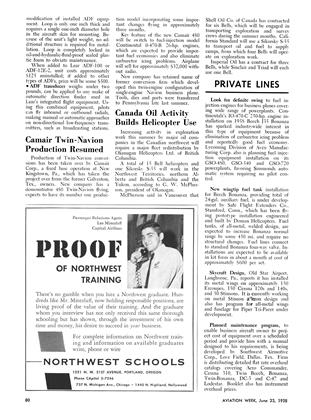 Private Lines, Page: 80 - June 23, 1958 | Aviation Week