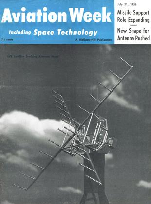 Cover for the July 21 1958 issue