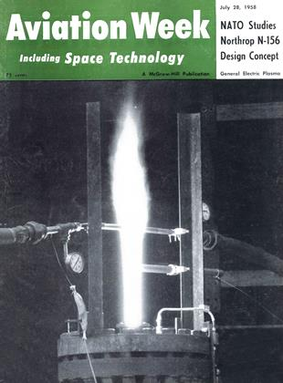 Cover for the July 28 1958 issue