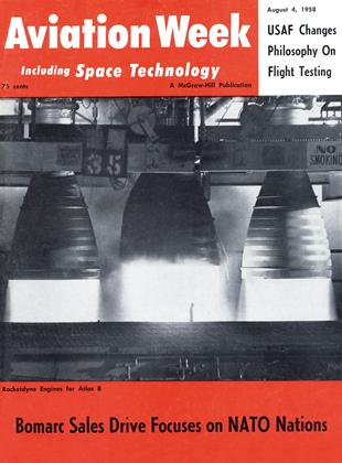 Cover for the August 4 1958 issue