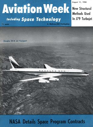 Cover for the August 11 1958 issue