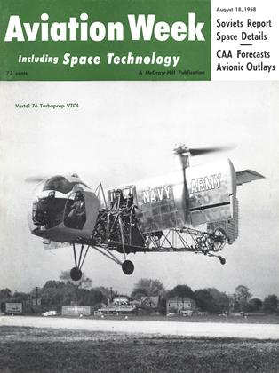Cover for the August 18 1958 issue