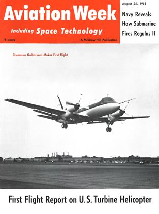 Cover for the August 25 1958 issue