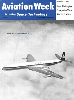 Cover for the September 1 1958 issue
