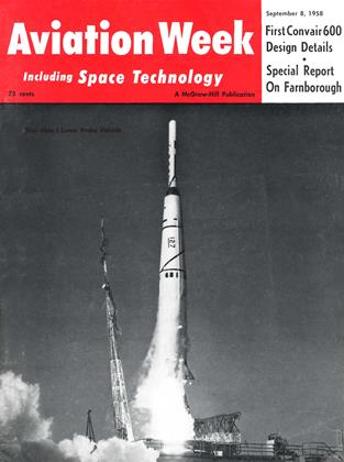 Cover for the September 8 1958 issue