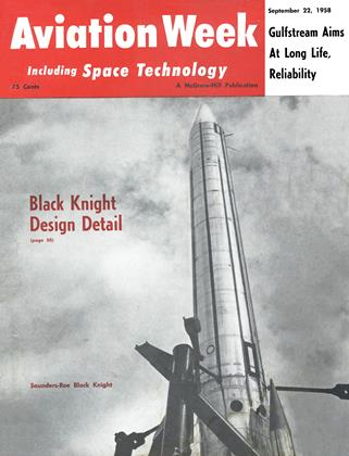 Cover for the September 22 1958 issue