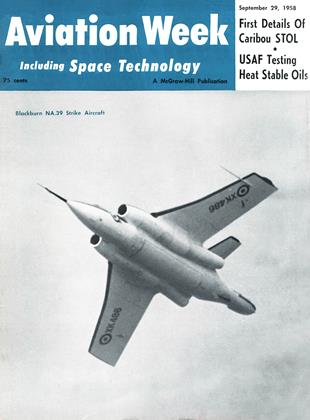 Cover for the September 29 1958 issue