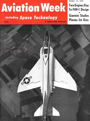 Cover for the October 13 1958 issue