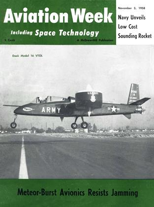 Cover for the November 3 1958 issue