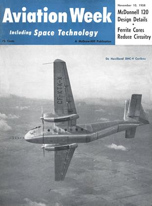 Cover for the November 10 1958 issue