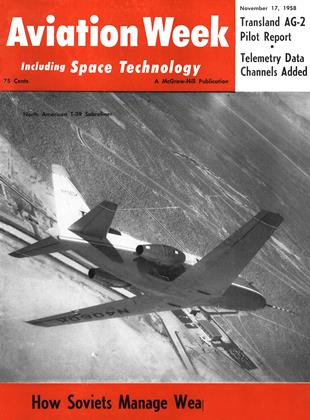 Cover for the November 17 1958 issue