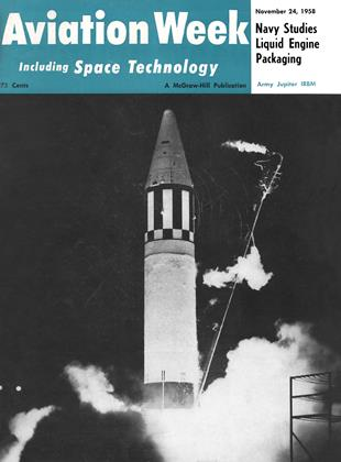 Cover for the November 24 1958 issue