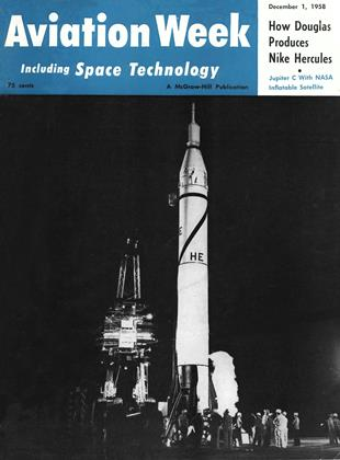 Cover for the December 1 1958 issue