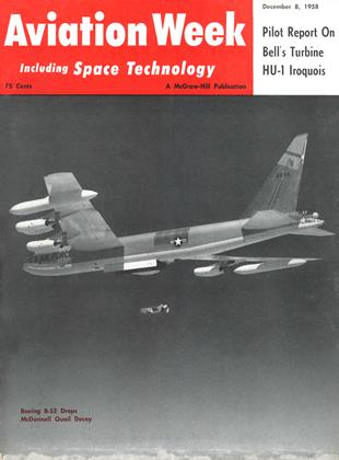 Cover for the December 8 1958 issue